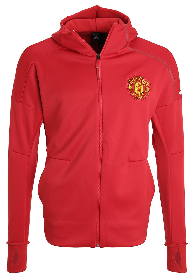 adidas Performance MANCHESTER UNITED ANTHEM Kurtka z polaru red - DMM07