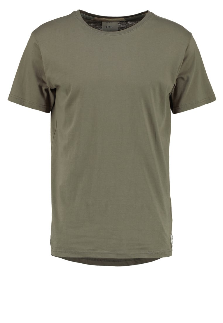 Redefined Rebel BRISTOL Tshirt basic dark olive - TSN703