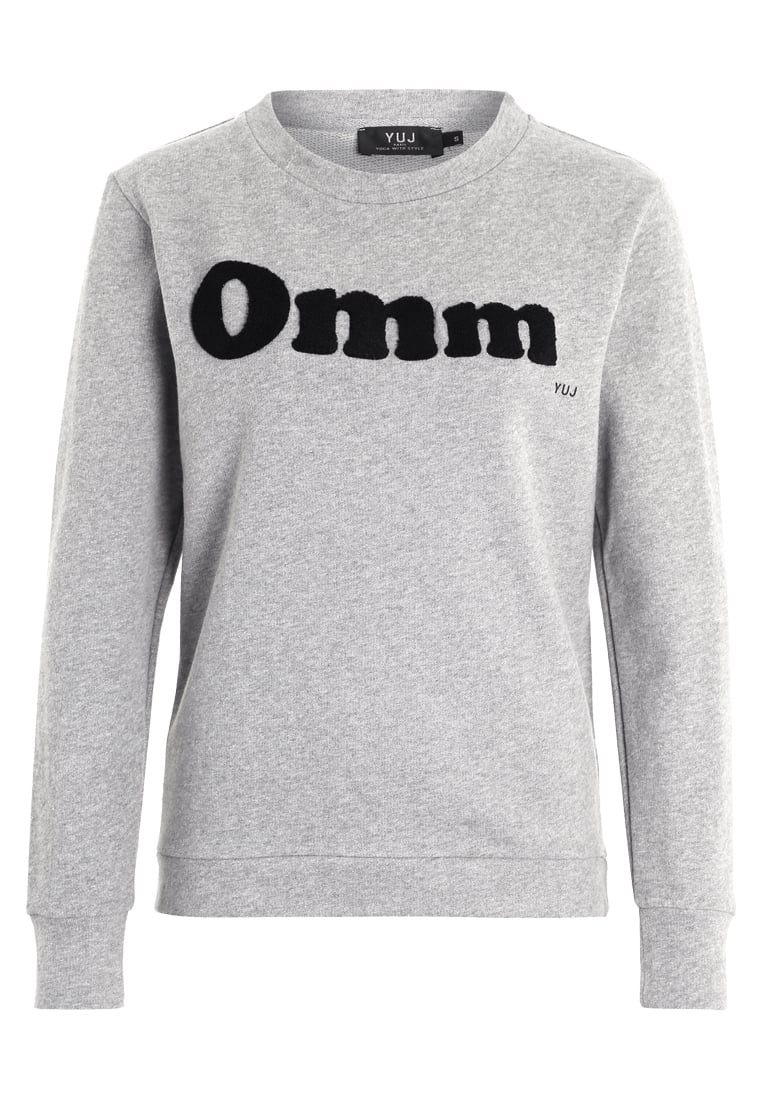 YUJ OMM Bluza grey/black - SWEATER OMM