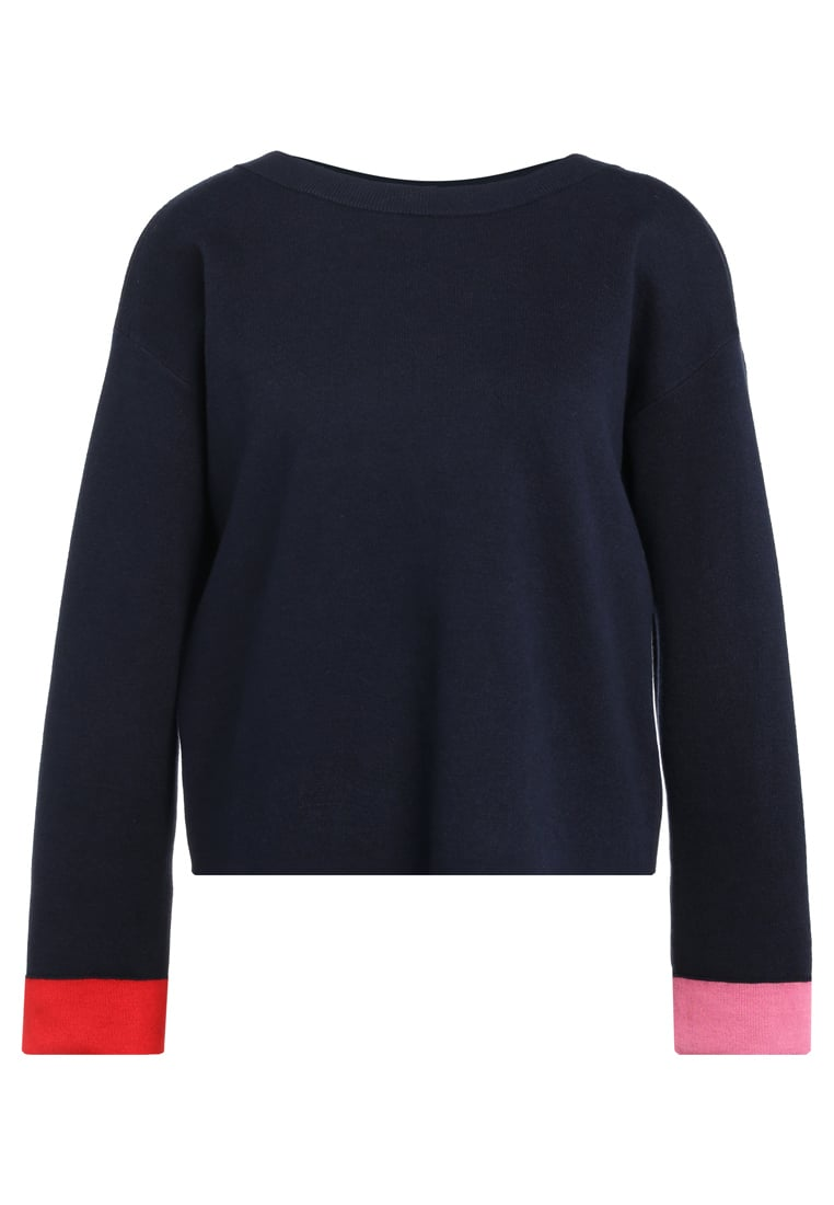 PS by Paul Smith COLOUR BOW Sweter dark blue