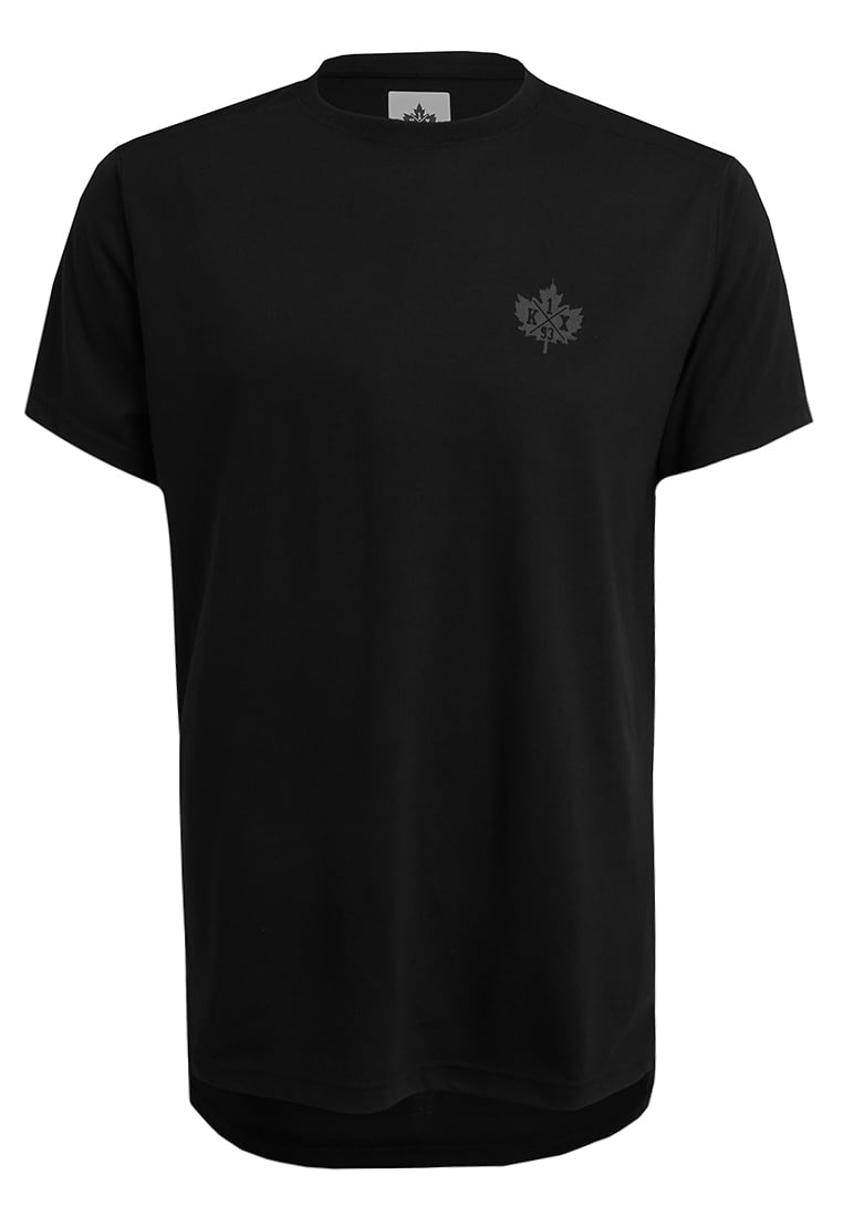 K1X CORE BIG LEAF Tshirt basic black - 3153-2500