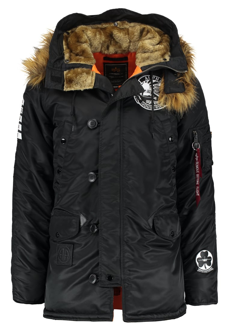 Alpha Industries PATCH Kurtka zimowa black - 178820