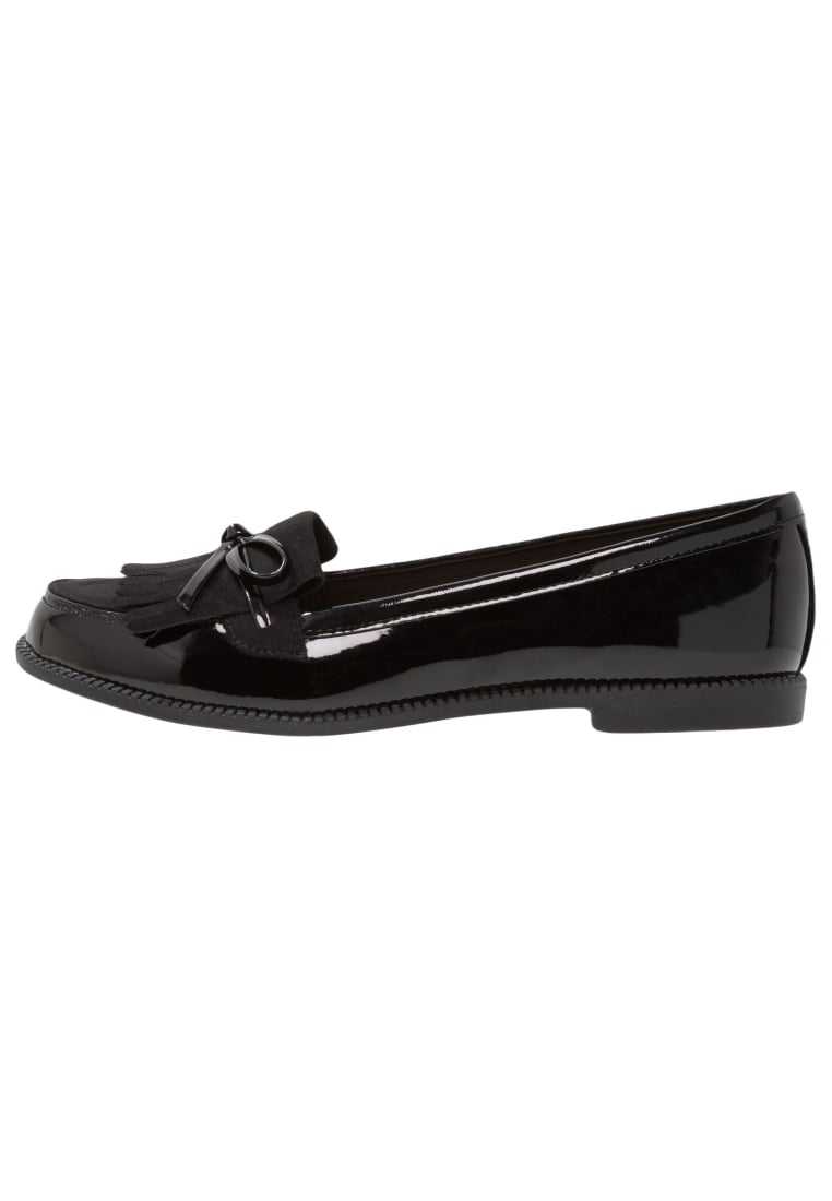 Dorothy Perkins Wide Fit LEAP Półbuty wsuwane black - 35263601