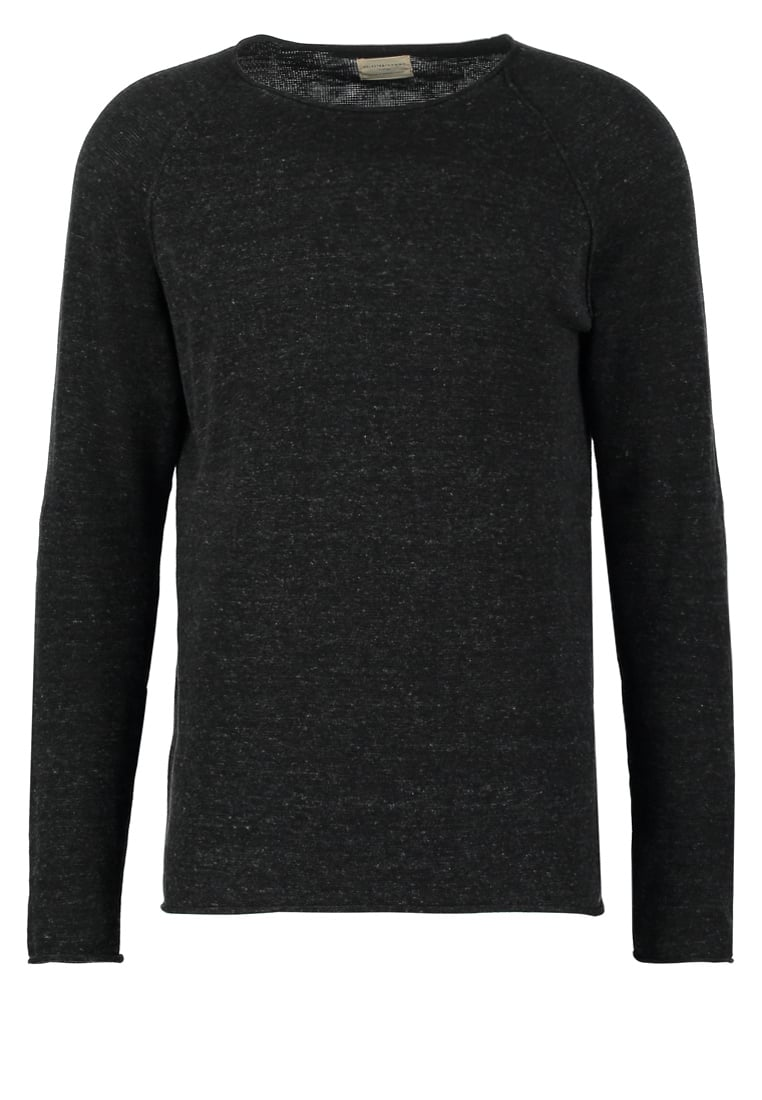 Selected Homme CLASH Sweter antracit - 16047273