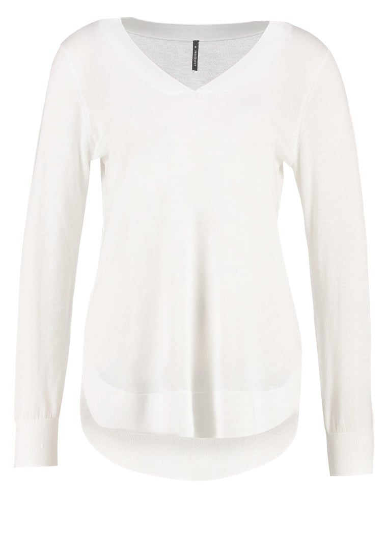 Freequent BOUTON Sweter offwhite - 114353