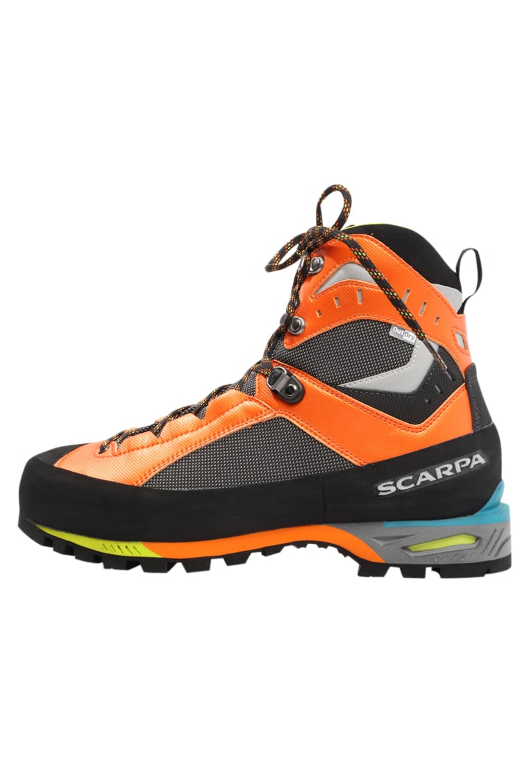 Scarpa CHARMOZ Buty górskie shark/orange - 71051-M