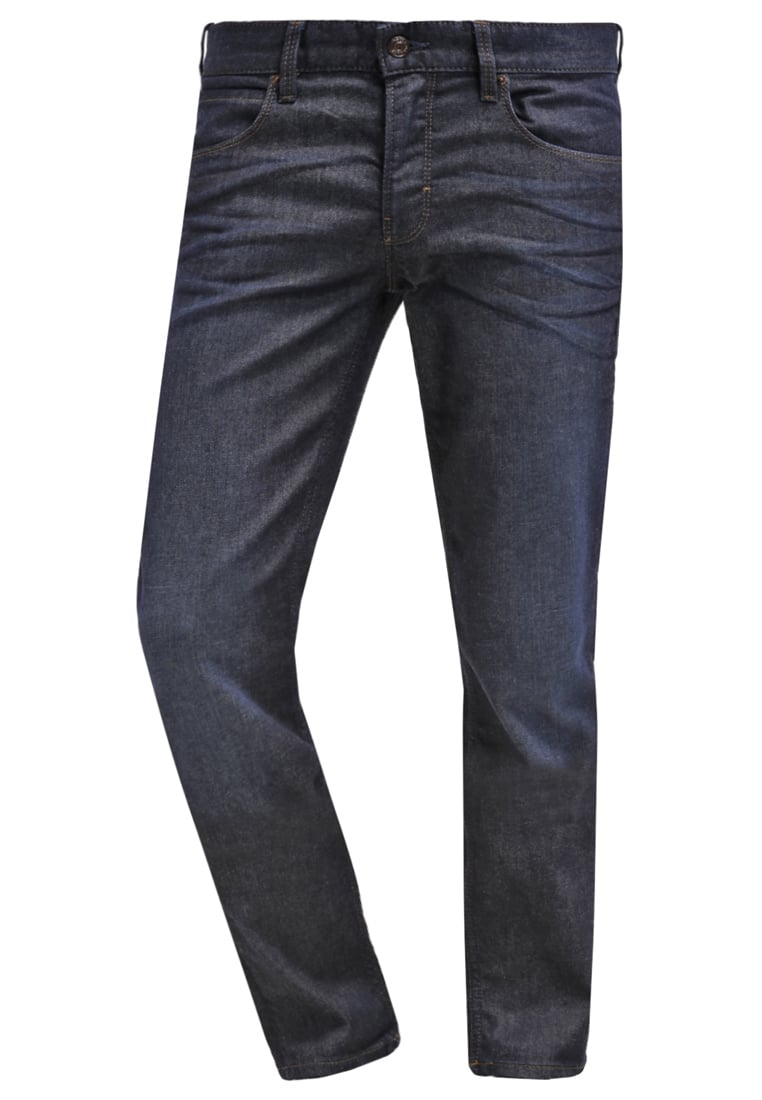 BOSS Orange Jeansy Slim fit navy - 50302776