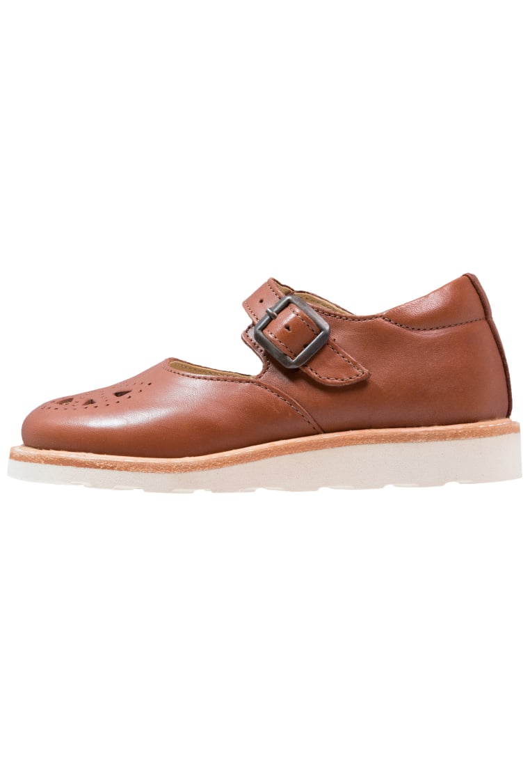 Young Soles BOW Baleriny z zapięciem chestnut brown - Bow Mary Jane Shoe