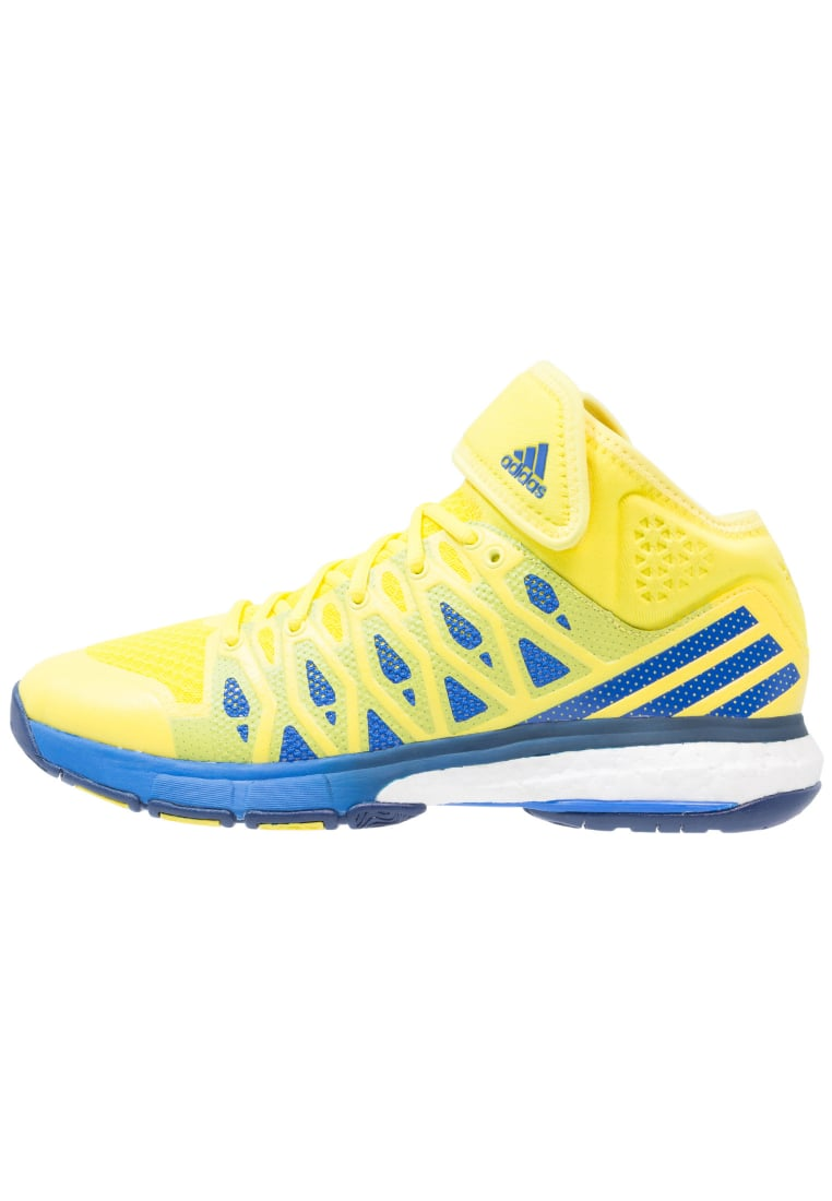 adidas Performance ENERGY VOLLEY BOOST Buty do siatkówki bright yellow/blue/mystery blue - KEH52