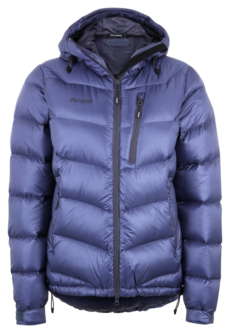 Bergans MEMURUTIND Kurtka puchowa dustyblue/nightblue - 7601