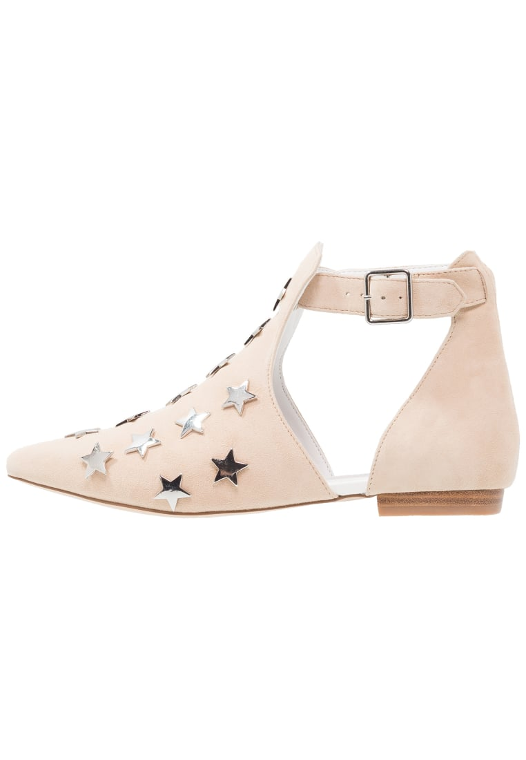 Eeight MICOL Ankle boot nude/silver - MICOL