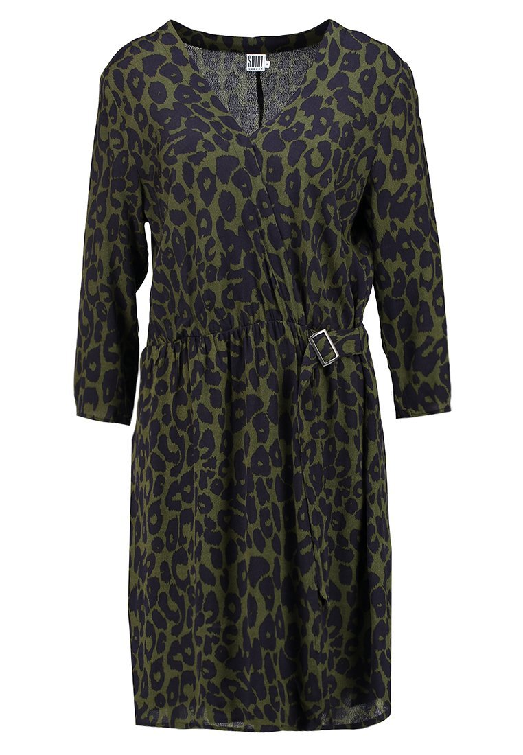 Saint Tropez ANIMAL WRAP DRESS Sukienka letnia cactus - R6073