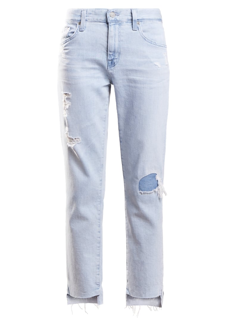 AG Jeans EX BOYFRIEND Jeansy Relaxed fit lightblue denim - DAS1575-MD