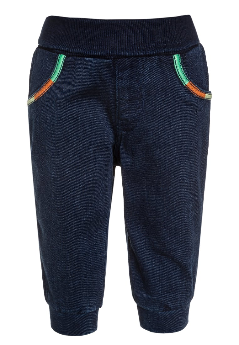 Benetton Jeansy Relaxed fit blue denim - 4CJI573FE