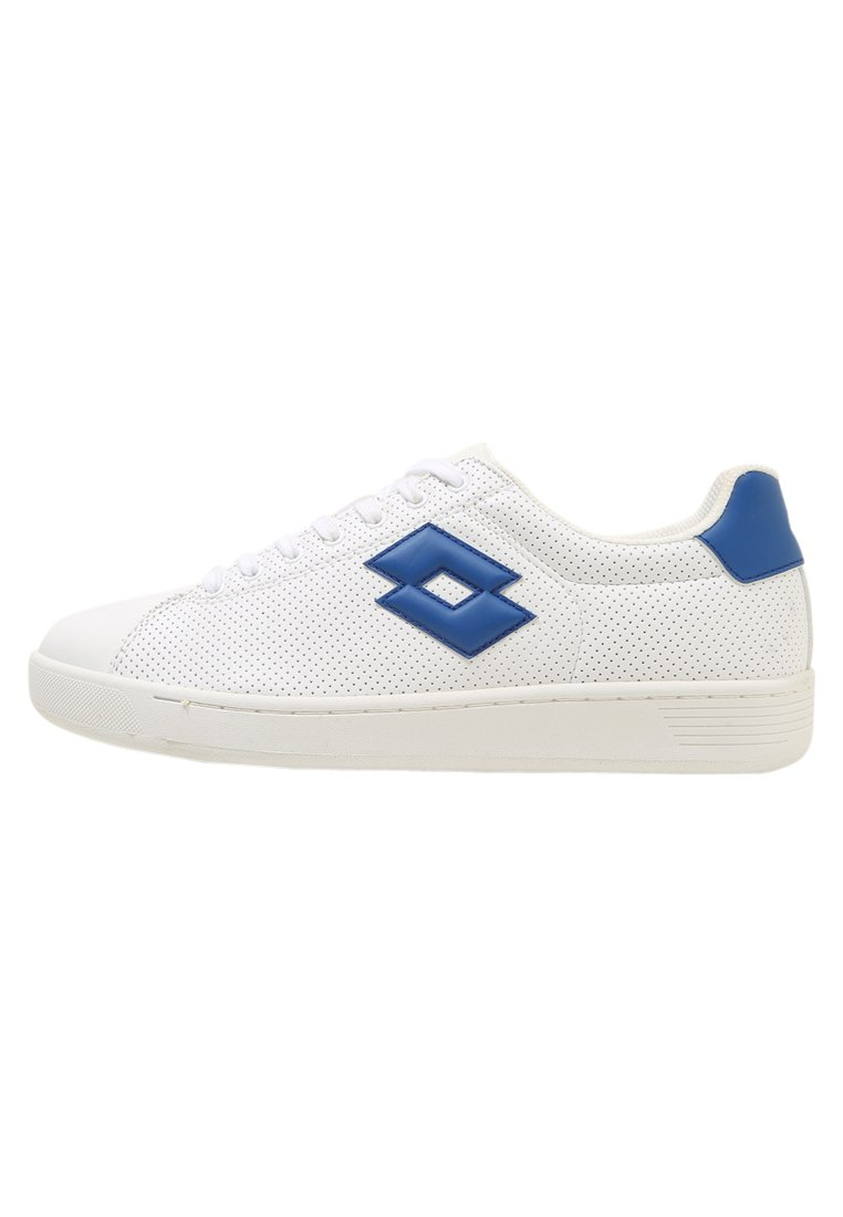 Lotto 1973 VII MICRO Buty multicourt white/blue - T3906