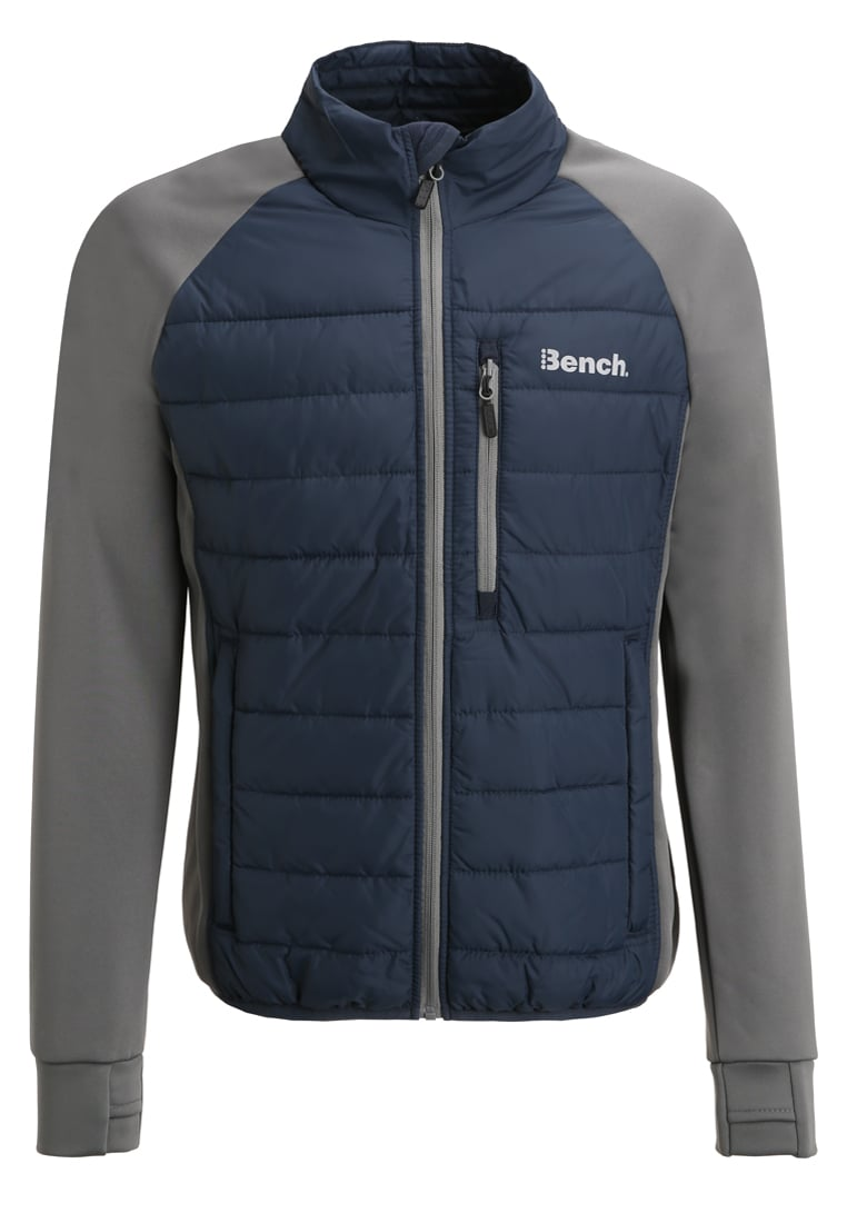 Bench INTELLECTUAL Kurtka snowboardowa dark navy blue - BMKF0162