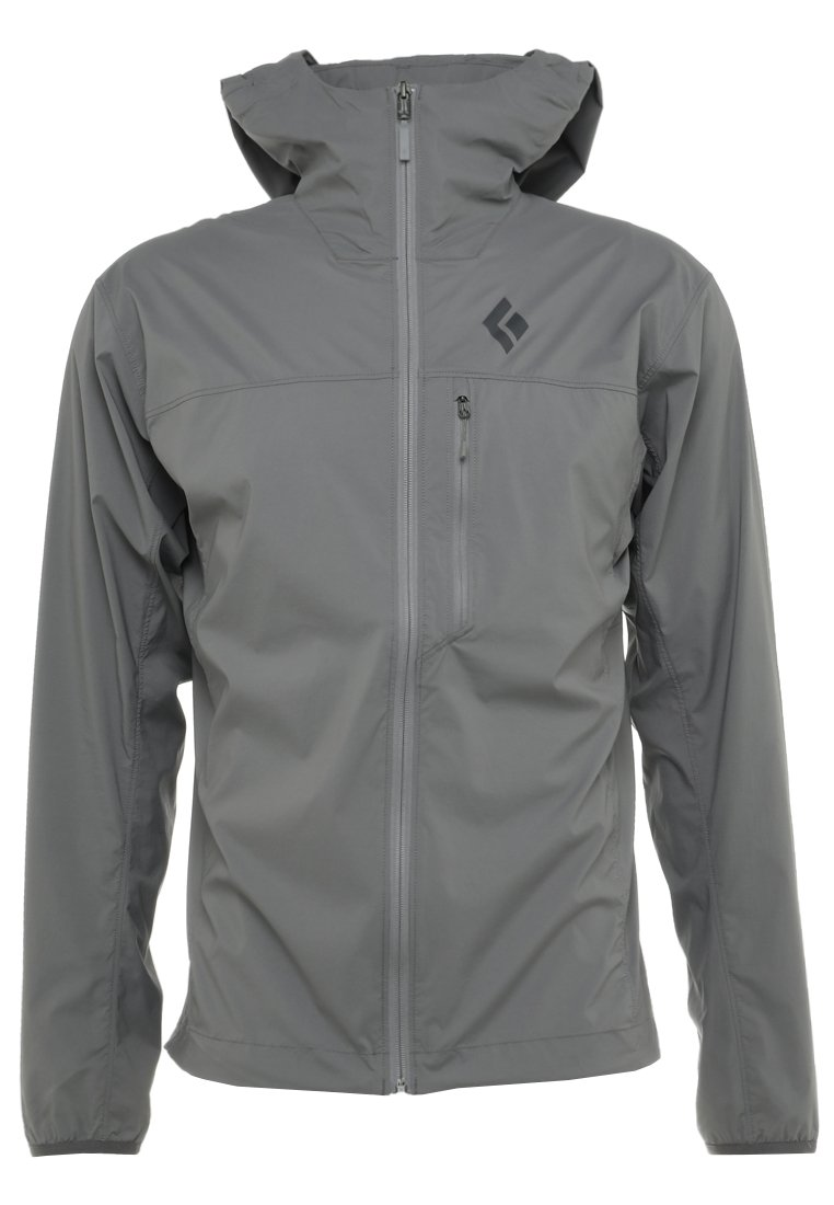 Black Diamond ALPINE START HOODY Kurtka Outdoor ash - K51I