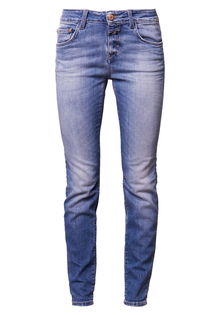 CLOSED BAKER LONG Jeansy Slim Fit washed down blue - C91883-01S-4D