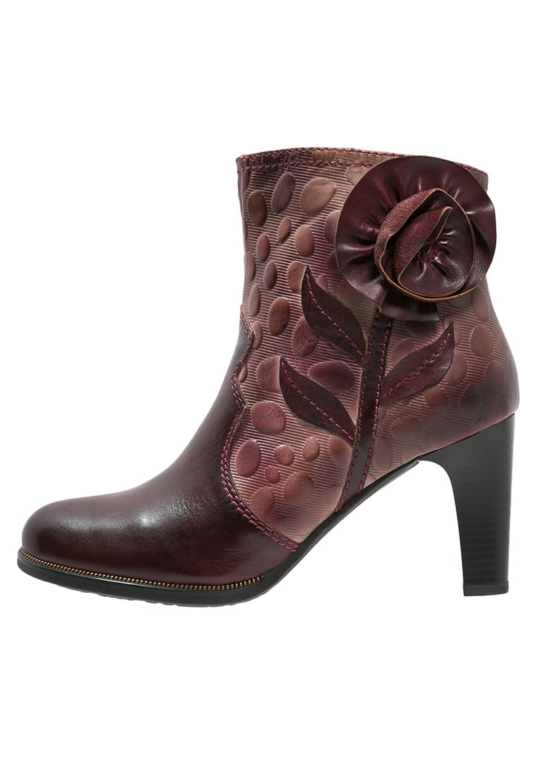 LAURA VITA ALBANE Ankle boot wine - ALBANE 07