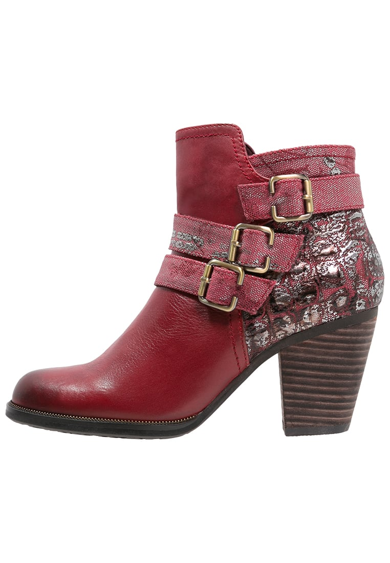 LAURA VITA ANGELINA Ankle boot rouge - ANGELINA 01