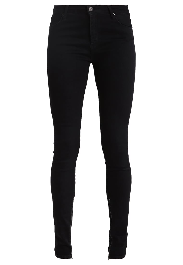 2ndOne NICOLE Jeans Skinny Fit satin black - 10525