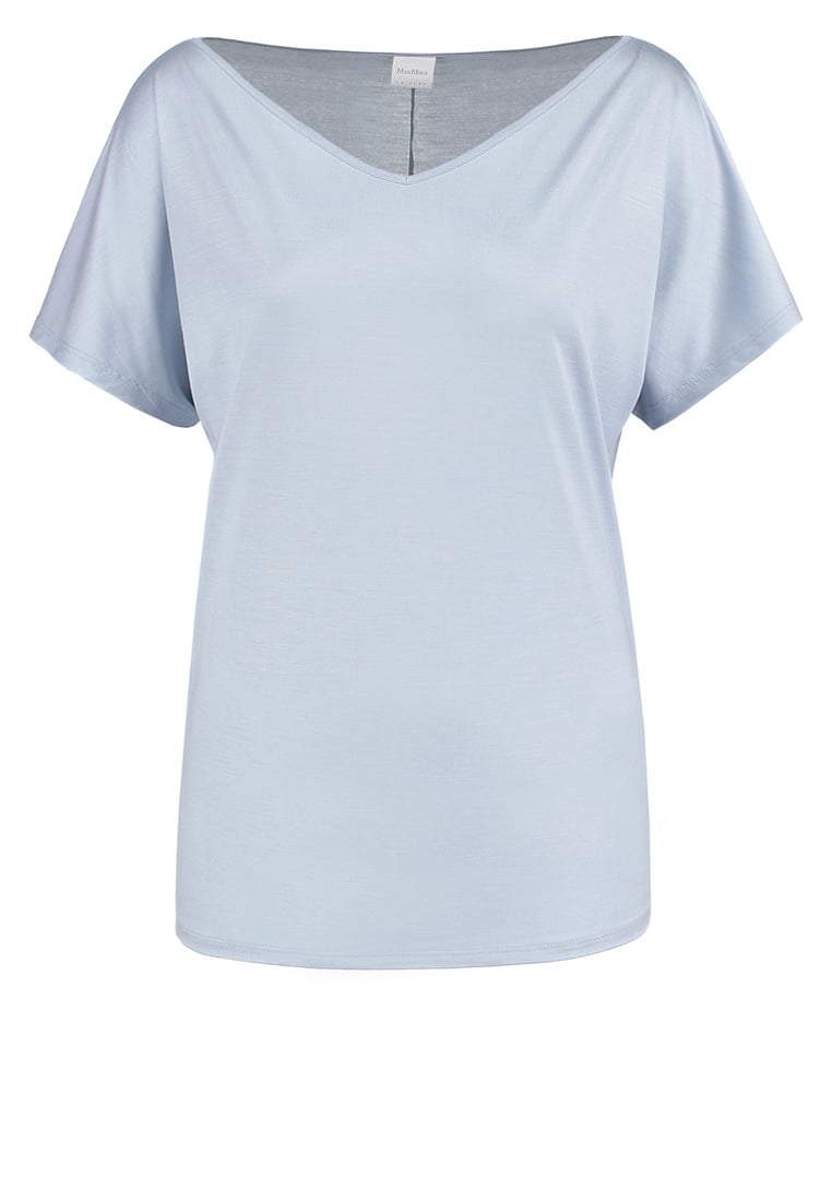 Max Mara Leisure CALCIO Tshirt basic cielo - 39710276000
