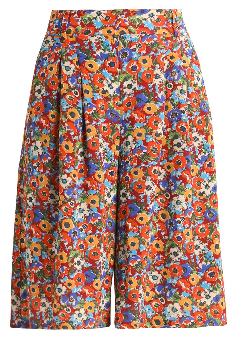 American Vintage PRINTED CULOTTE Szorty multi coloured - DIDY116I
