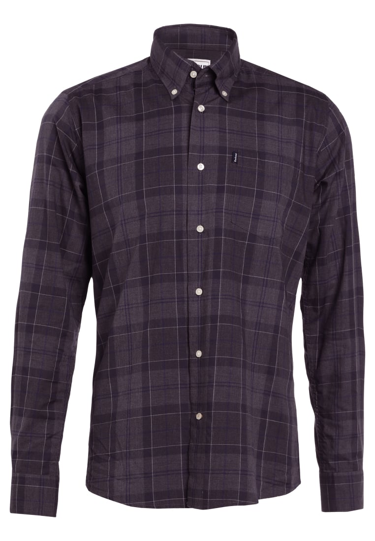 Barbour BARBOUR WILFRED TAILORED FIT Koszula grey marl - MSH4137GY52