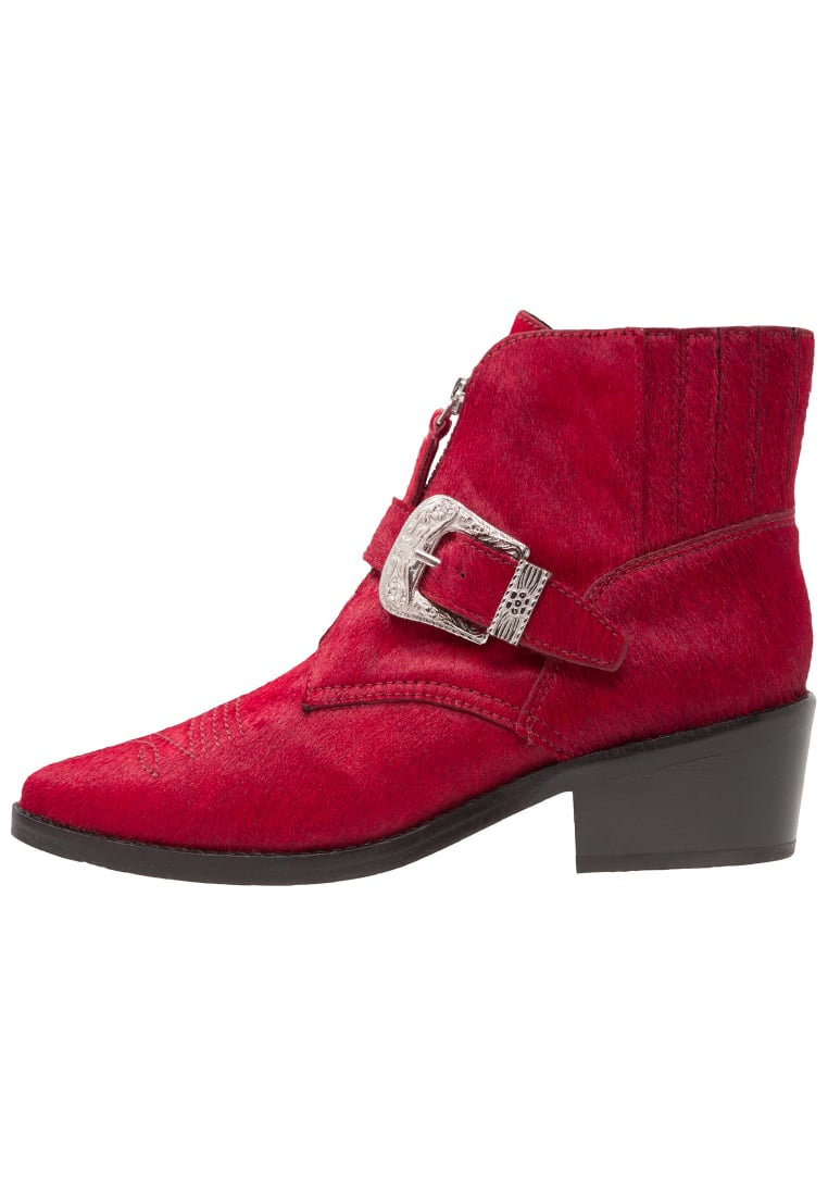 Topshop AMAZING WESTERN Ankle boot red - 32A30MRED