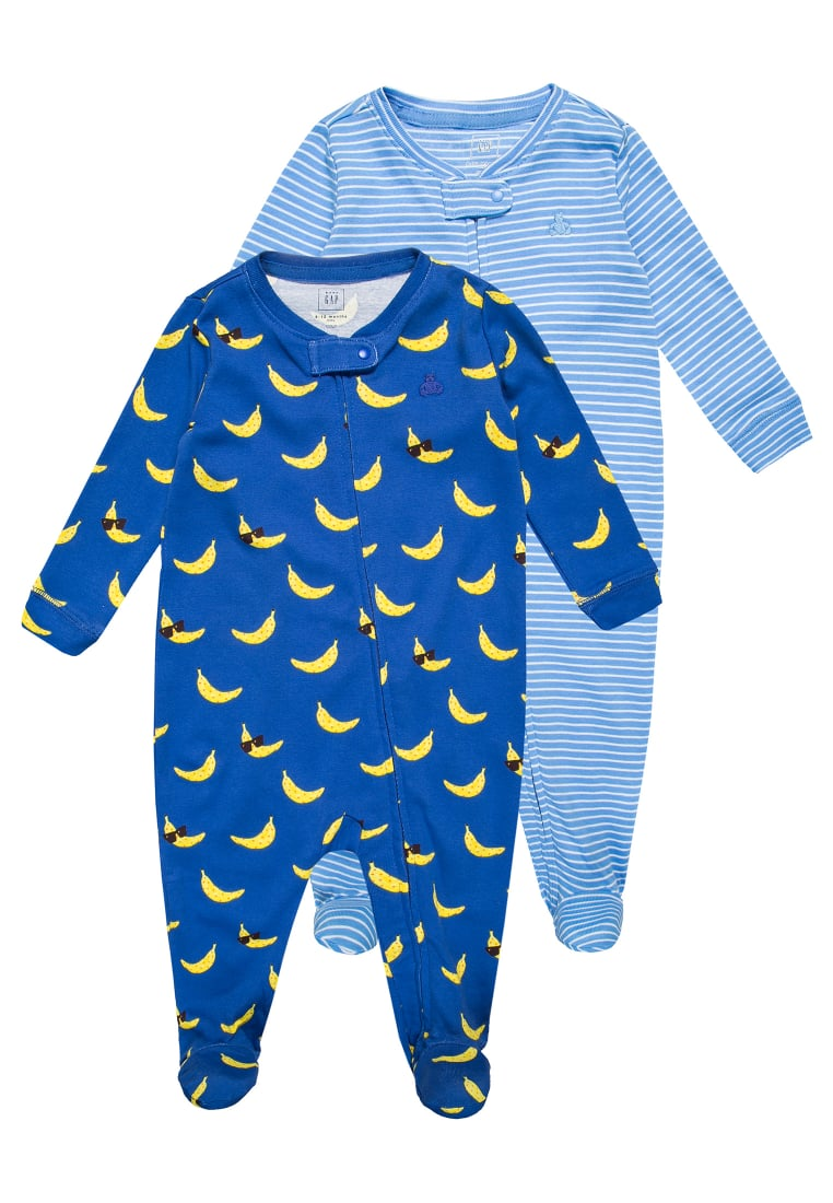GAP 2 PACK Śpioszki matisse blue - 756865