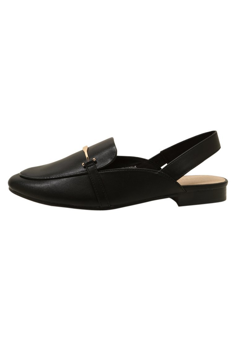 Topshop LEMONADE TRIM  Baleriny black