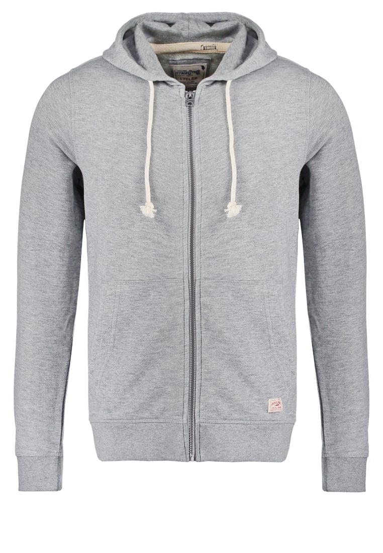 Jack & Jones Bluza rozpinana light grey melange - 12089492