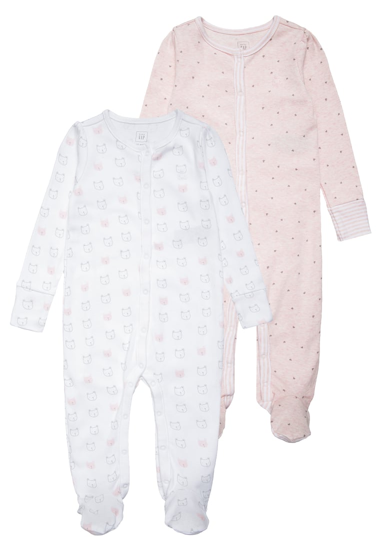 GAP 2 PACK Piżama pink heather - 592614