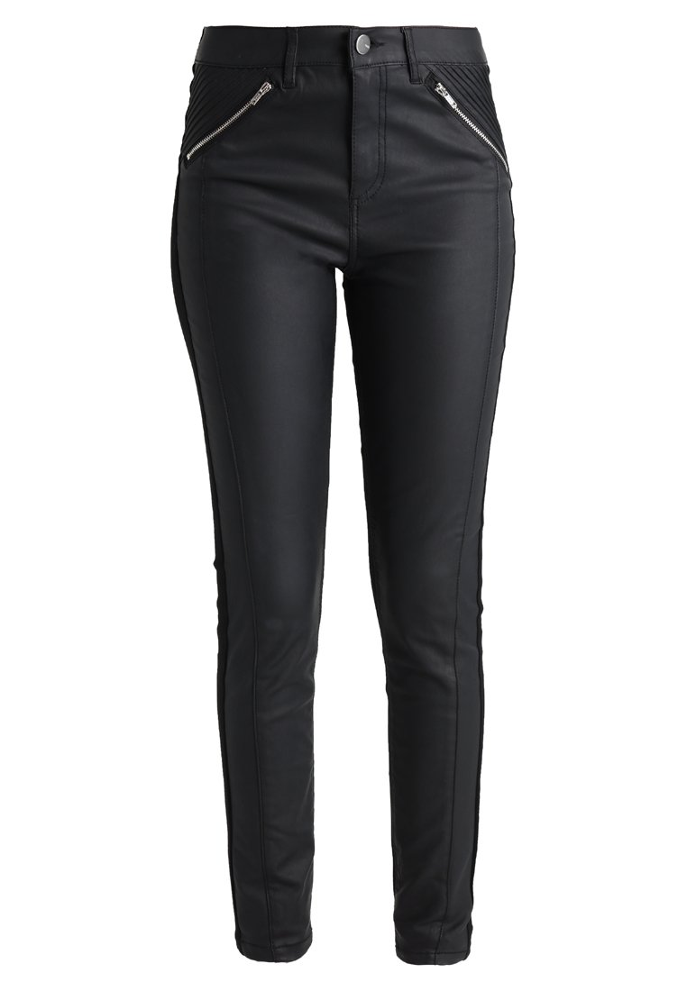 Oasis COATED ISABELLA Jeansy Slim Fit black - 63743