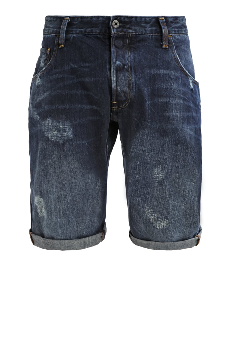 GStar ARC 3D TAPERED 1/2 Szorty jeansowe hadron denim - D02151