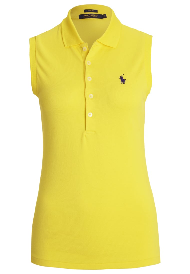 Polo Ralph Lauren Golf CLUB Top acid yellow - 418IK346B9897