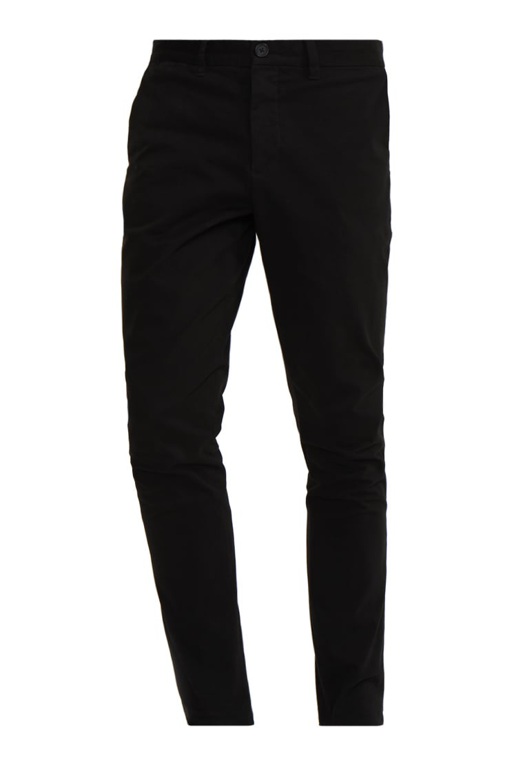 AllSaints PARK Chinosy black - MT001L