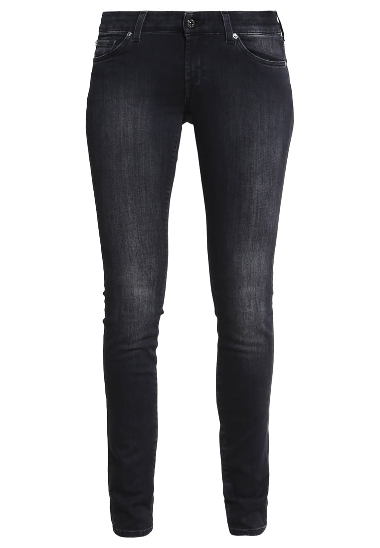 7 for all mankind CRISTEN Jeans Skinny Fit washed black - SWMJ320EX