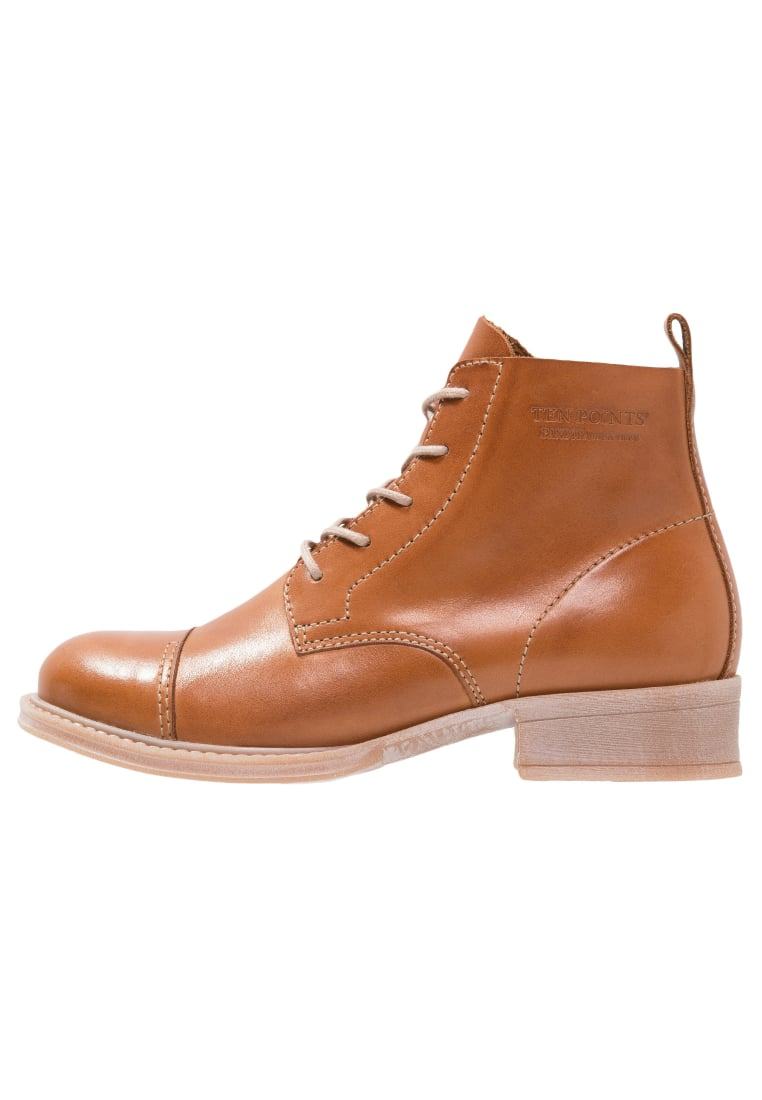 Ten Points Ankle boot cognac - 123007