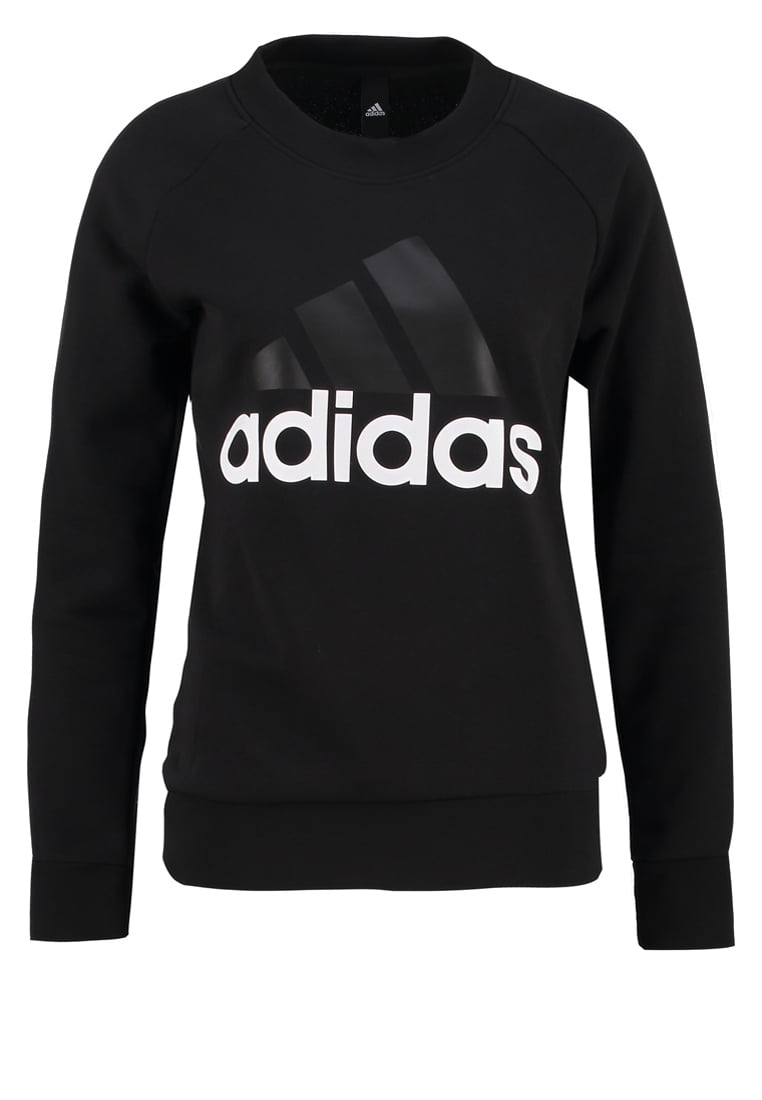 adidas Performance ESSENTIALS LINEAR Bluza black - BX374