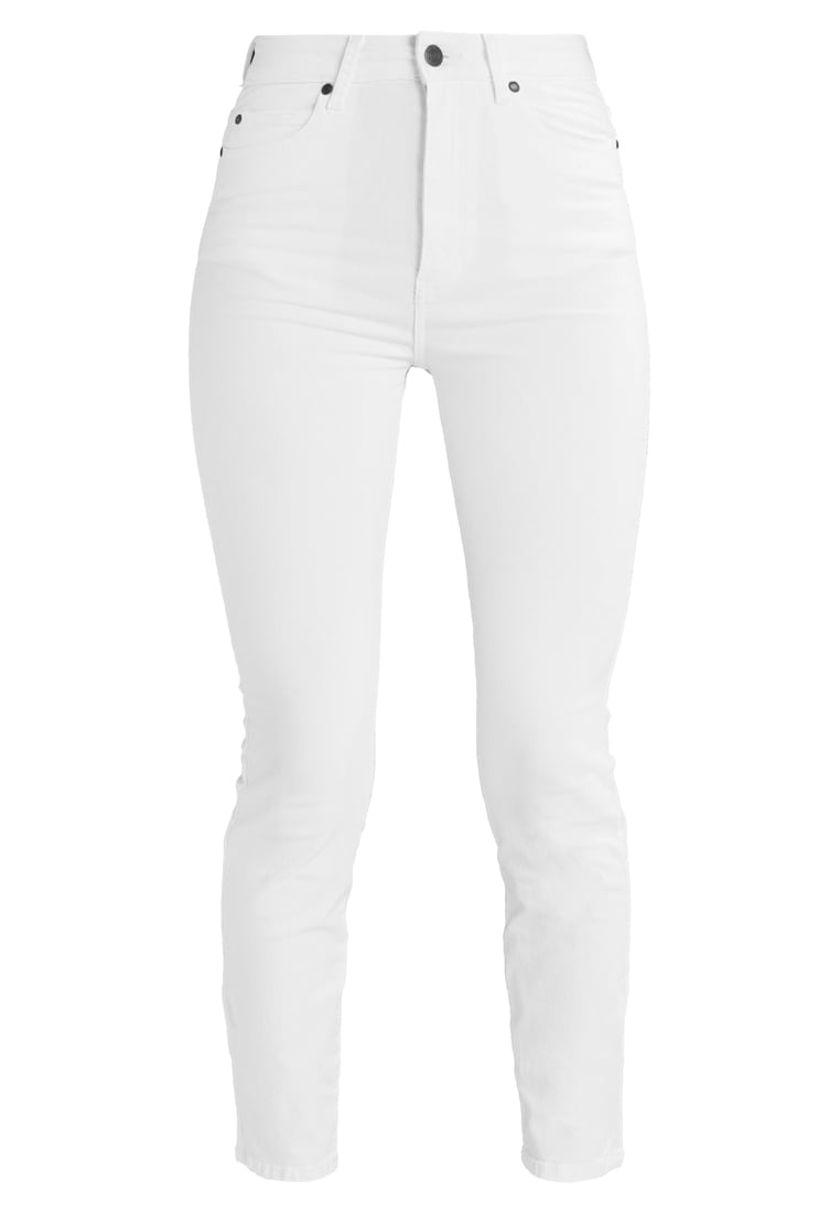 Dr.Denim CROPA CABANA Jeansy Slim Fit white - 1410104