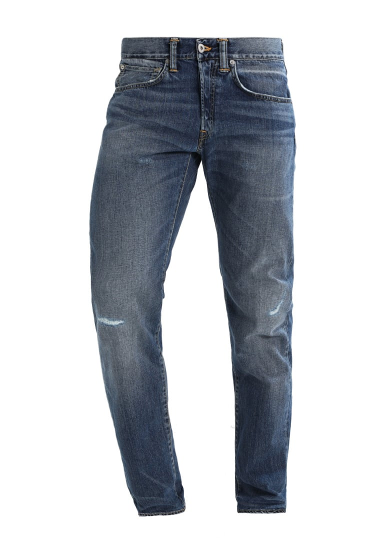 Edwin ED55 REGULAR TAPERED Jeansy Relaxed fit average repair wash - I022499