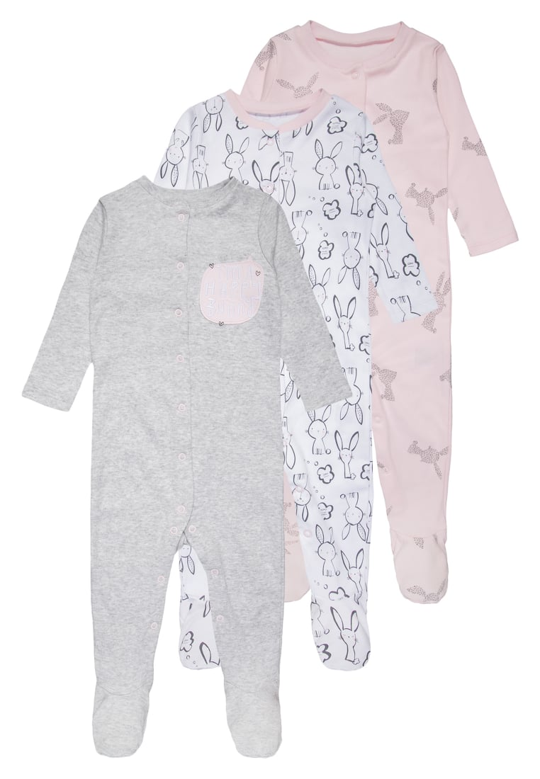 mothercare 3 PACK Piżama pastels multicolor - LC711