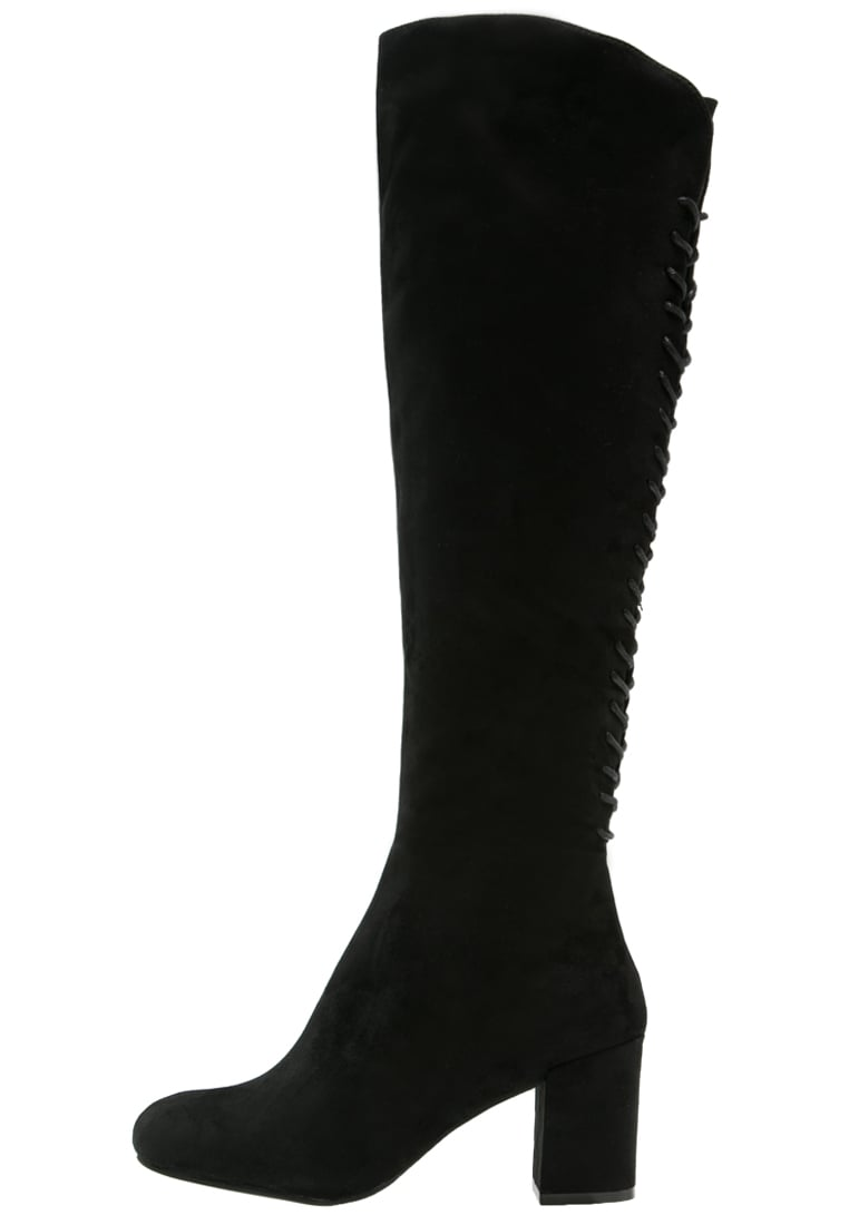 Head over Heels by Dune SAMMIA Kozaki sznurowane black - 0167508730002037