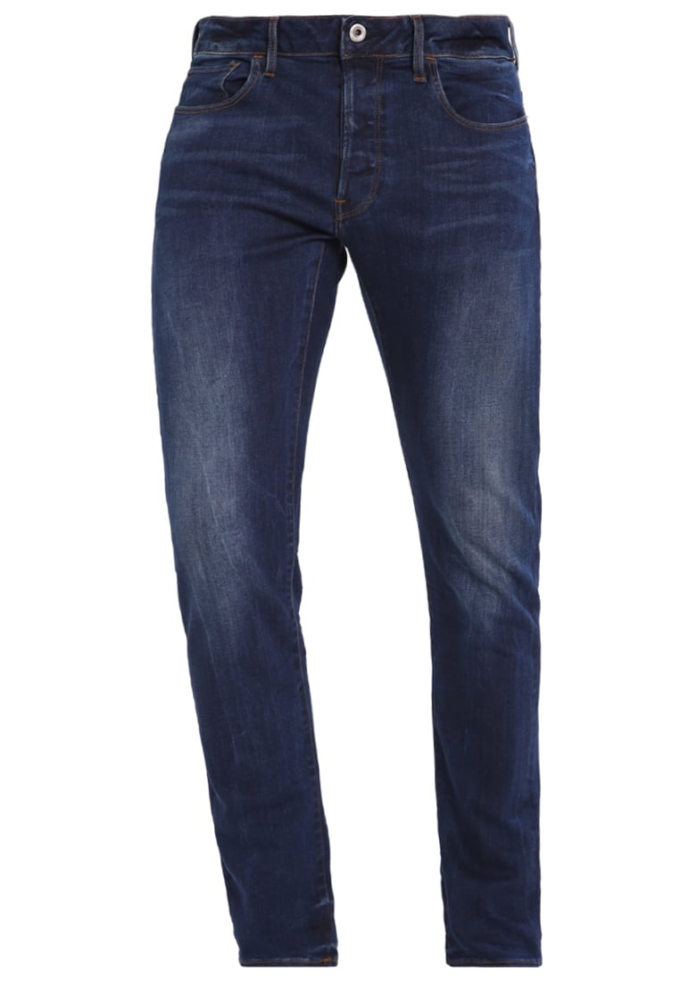 GStar 3301 DECONSTRUCTED SLIM Jeansy Slim fit blue denim - D05702