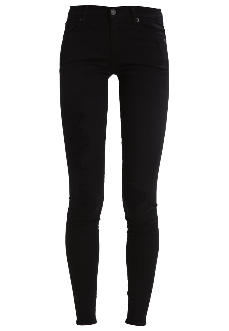 7 for all mankind Jeans Skinny Fit black - SWT526F