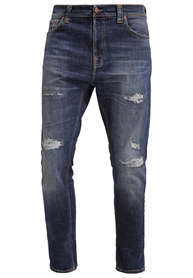 Nudie Jeans BRUTE KNUT Jeansy Relaxed fit blue reed - 112077