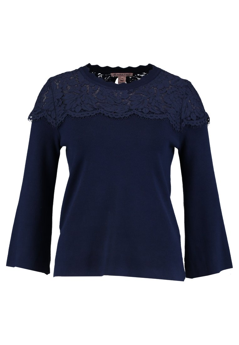 Anna Field Sweter dark blue