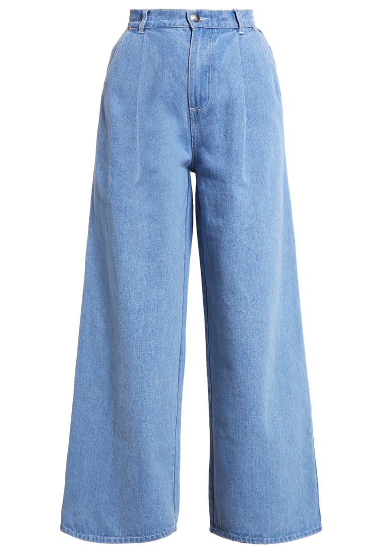 The Fifth Label FIRST LIGHT Jeansy Dzwony washed denim - TX160515P