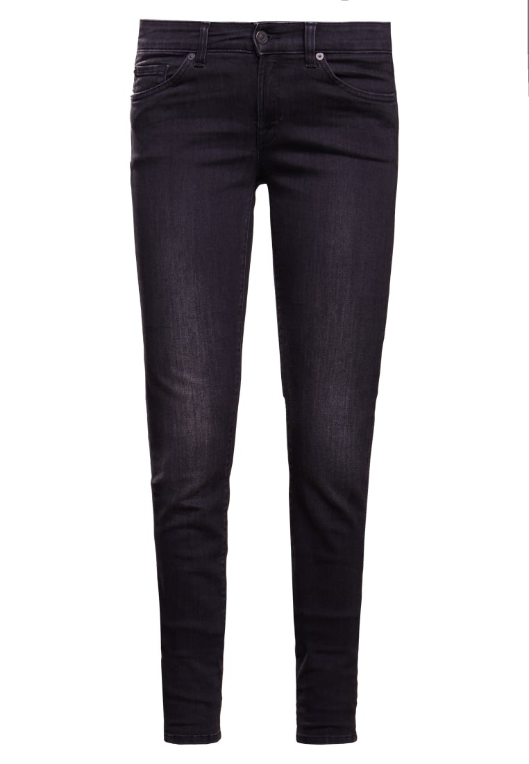 7 for all mankind CRISTEN Jeans Skinny Fit washed black - SWMJ320LS